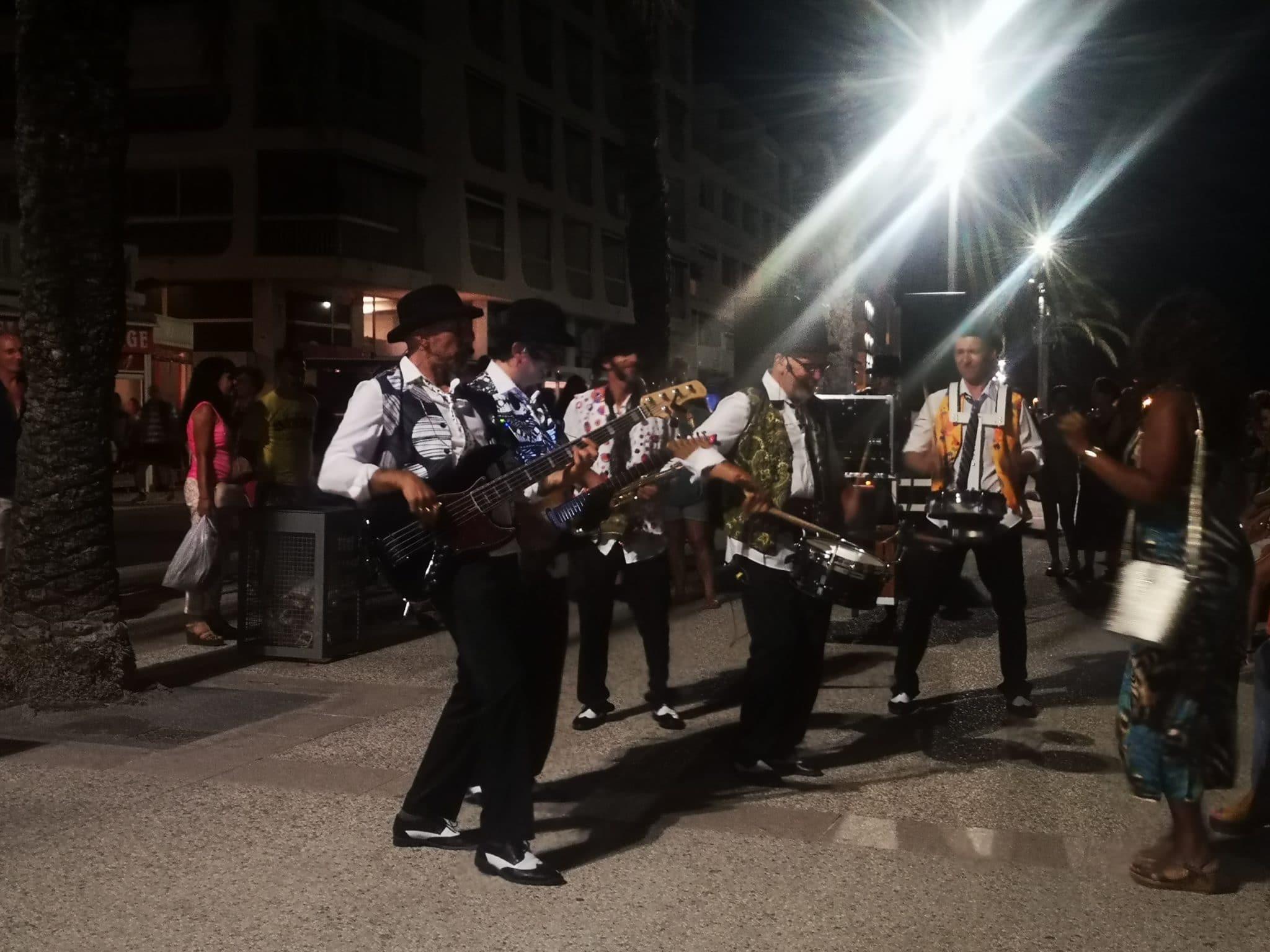 Compagnie, Orchestre de rue Cartoon Show : Fanfare électrique Les gentlemen