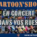 Compagnie, Orchestre de rue Cartoon Show : Fanfare électrique Les Musicolors