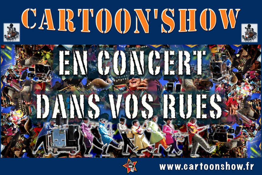 Compagnie, Orchestre de rue Cartoon Show : Fanfare électrique En Concert