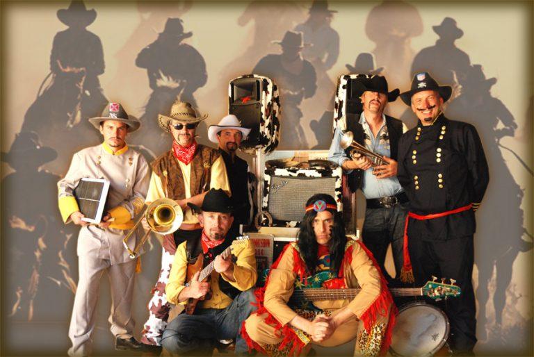 Compagnie, Orchestre de rue Cartoon Show : Fanfare électrique Far West en Folie