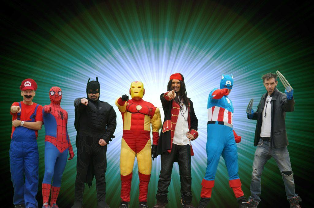 Orchestre de rue Cartoon Show : Fanfare électrique Les Super Héros