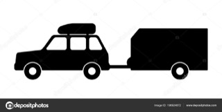 véhicule + remorque cartoon show