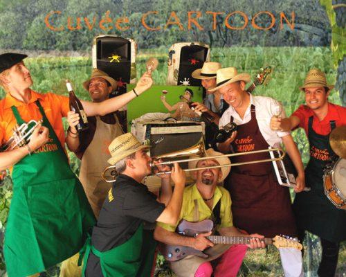 Compagnie, Orchestre de rue Cartoon Show : Fanfare électrique, Cuvée Cartoon