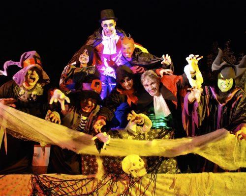hallowen Compagnie Orchestre de rue Cartoon Show Fanfare de rue