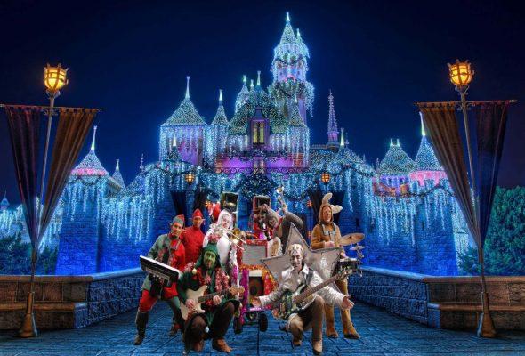 Orchestre de Rue Cartoon Show : Fanfare électrique et sa parade musicale de Noël