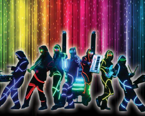Orchestre de rue Cartoon Show : Fanfare électrique Les Illuminés