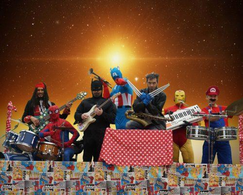 Cartoon Show son spectacle en Super Héros