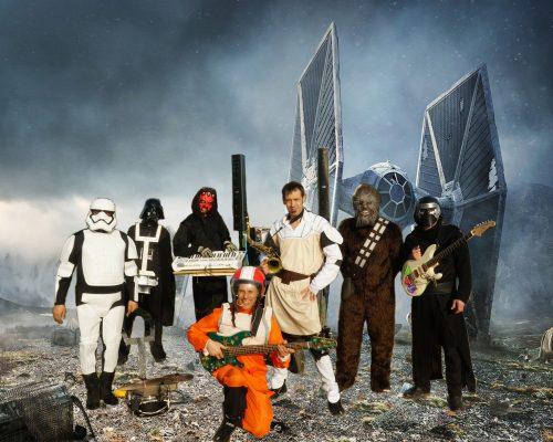 Cartoon Show son spectacle selon la légende Star Wars